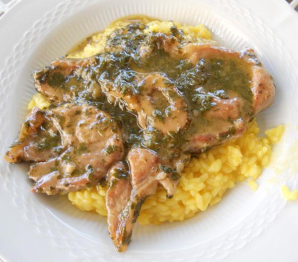 Ricetta risotto con ossobuco alla milanese for Cucinare ossobuco