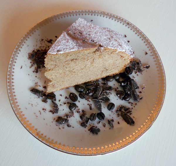 Ricetta torta al caff for Cucinare con 2 euro al giorno pdf